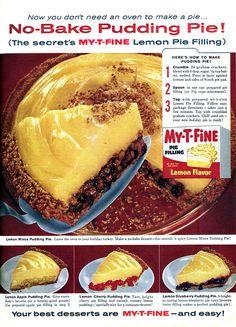 No-Bake Pudding Pie