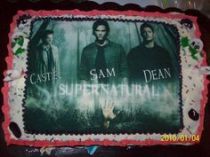 Supernatural cake!!!