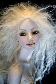 Tibetan hair tutorial - Hannie Sarris Fairy Fantasy Sculptures