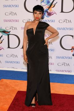 Jennifer Hudson in Kaufmanfranco at the 2014 CFDA Awards