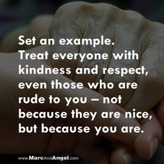 Kindness is always the best response to any situation. Make kindness a daily ritual; it's what makes life happier and more fulfilling in the long run. - via: http://www.marcandangel.com/2014/08/13/10-choices-you-wont-regret-in-10-years/