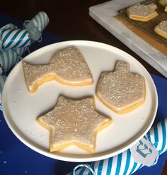 chanukah sugar cooki