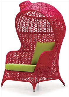 Red outdoor Chair!