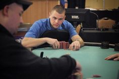 U.S. Marine outlasts a field of 395 players at the WSOP Circuit event at Harrah's Philadelphia!