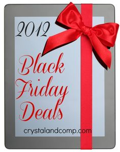 For our daughters... end of my commentary. Mom/Mission   I have teamed up with other bloggers to bring you the best Black Friday deals for 2012. As the ads go live I will be adding their links to the list below. When the store name is bolded, then you can click it to go to that ad. Good luck scoring some massive deals!    BLACK FRIDAY DEALS 2012