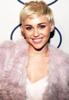 Miley Cyrus' pixie 'do