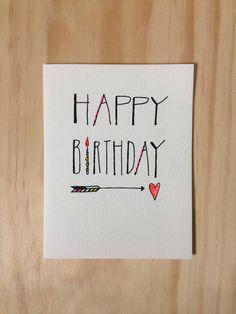 Rad neon touched Birthday Card by @HartlandBrooklyn #neon #card #stationary