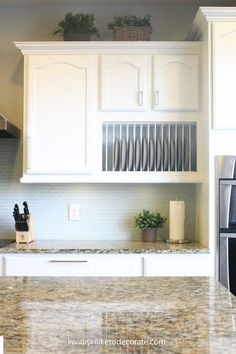 Kitchen Makeover~ Painting the Cabinets