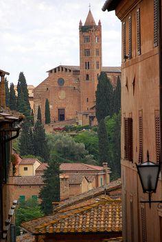 Santa Maria del Servi - Siena, province of Siena , Tuscany region Italy