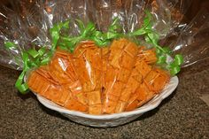 Instead of only candy in easter baskets, try these fun bags...you can also put goldfish crackers or healthy fruit snacks