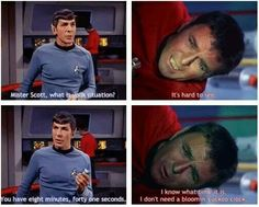 Scotty & Spock