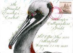 2005 Graceful Envelope Contest/Klainbaum... #mail art