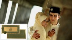Muslim Wedding Invitation- Make your Nikah special. Order--> http://indianweddingcard.in/RP8794.html  #MuslimWeddingCard #IslamicWeddingCards #MuslimWeddingInvitations