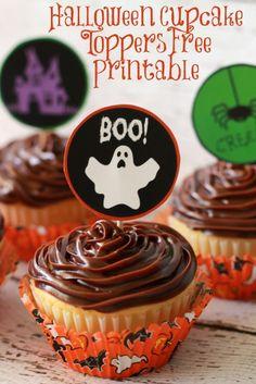Halloween Cupcake To