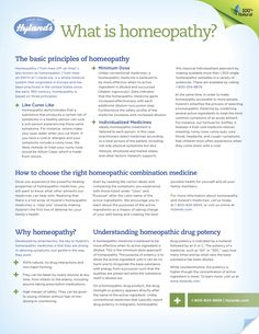 What is Homeopathy page 1