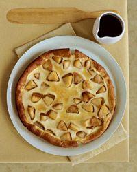 Apple souffle pancake