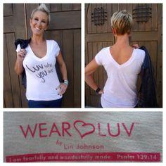 messag, wear luv