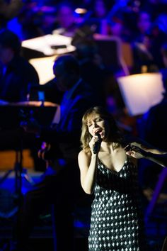 Singer Katharine McPhee belts her heart out