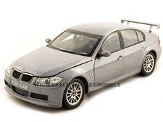 Bmw 320si Wtcc Test Car Diecast 1/18 Grey Die Cast Car Model By Guiloy
