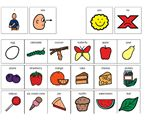 The Very Hungry Caterpillar – I made this story/communication board for my prek and k students to go with The Very Hungry Caterpillar by Eric Carle.  I go over the board with them before we read the book, to expose them to new vocabulary/concepts.  They can use the pictures to answer yes/no and wh-questions.