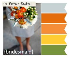 The Perfect Palette: {Palette Inspiration}: A Color Palette of Coral, Peach, Pink, Tangerine and Taupe