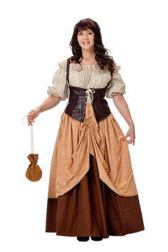 Disfraz de hortelana #medieval