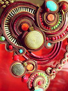 Up close & personal with our Alora necklace #DoriCsengeri #necklace #boho #fallcolors #fall2014