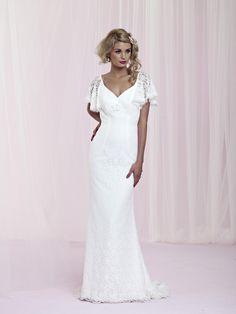 Beautiful vintage wedding dress