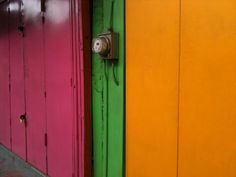 Colourful Shop shutters, port of Spain, #Trinidad