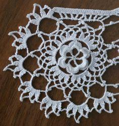 Free Irish Crochet Lace Collar Pattern
