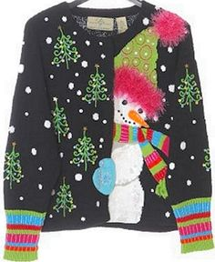 This is an ugly Christmas sweater masterpiece, and I must own it!