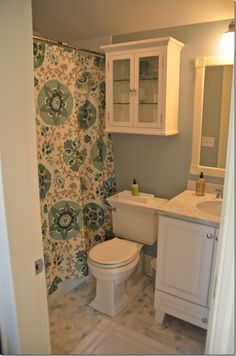color schemes, small bathrooms, guest bath, tile floor