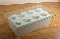 lego coffee table. diy all the way