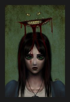 Alice + Cheshire (American Mcgee's Alice)