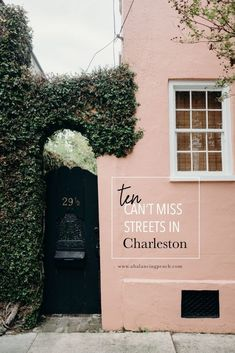 Charleston Travel Gu