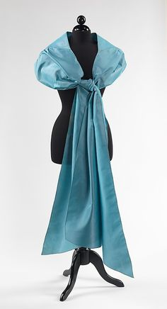 Charles James evening stole 1949-50