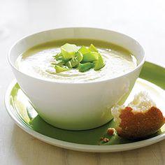 Potato Leek Soup   MyRecipes.com