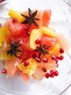 Citrus and Star Anise Salad by katieatthekitchendoor #Salad #Fruit #Citrus