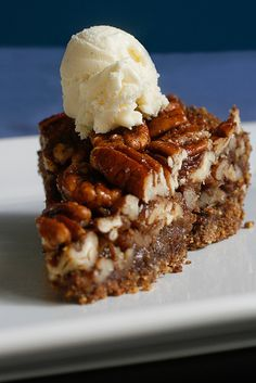 Pecan Pie. Vegan and Gluten-free. I like how this is mostly nuts! Can't wait to try it!