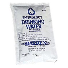 """Datrex Water Pouches - 4 ounce Pouch. """"Nearly a perfect single sized serving for a thirsty Chihuahua,"""" according to one customer."""