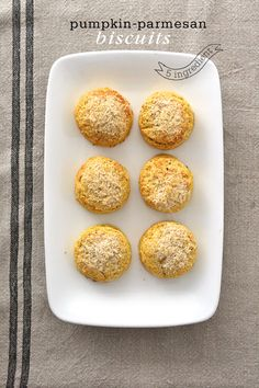 Pumpkin-Parmesan Biscuits from scratch with only 5 ingredients