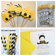 Busy Bee Themes First Birthday PArty Ideas
