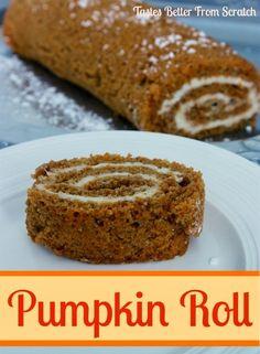 pumpkin from scratch, pumpkin rolls, classic pumpkin, pumpkin cakes, roll recip, bake desert