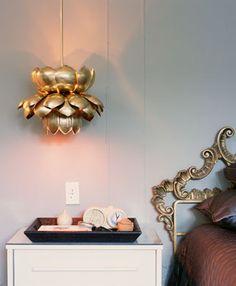 Lotus pendant...so cool.