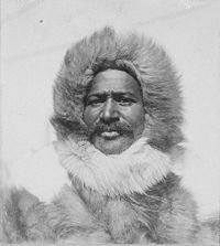 Matthew Henson, who co-discovered the North Pole in 1909 with Admiral Robert Peary: born in Charles County