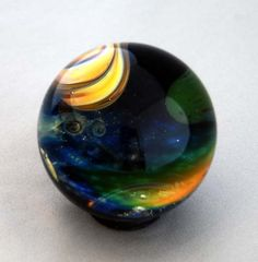 """Universe Marble"" Glass by Gateson Recko. Photo © Burnell Yow!"