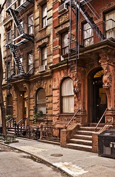 Greenwich Village Architecture by Nico Geerlings, via Flickr