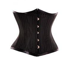 "Black Jacquard Waist Training Underbust,, need a smaller waist trainer now :) 22"" under bust corset."