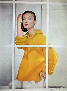 Evelyn Tripp  Vogue May 1956