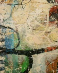 "Three Second Eternity,  Bill Gingles        2010      Acrylic on canvas      30"" x 24"""